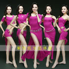 New arrival 2018 Purple Rose Red Belly Dance Costumes Groups S/M/L 5styles