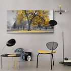 Large Tree Yellow Leaves Nature Print Pictures Canvas Art  Wall Prints Unframed
