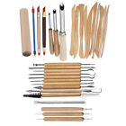 31PCS Clay Sculpting Set Wax Carving Pottery Tools Shapers Polymer Modeling DY image