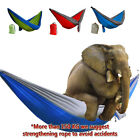 Outdoor Portable Sleep Swing Camping Hanging Hammock Mosquito Net Parachute Bed
