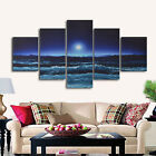 5 Posters Floral Abstract Flowers Print Pictures Canvas Wall Art Deco Unframed <br/> The Paintings Does not Contain a frame,Please Note.