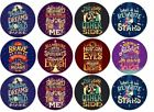 The Greatest Showman Theme Edible Wafer Cup Cake Disc Topper