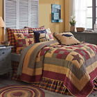 FARMHOUSE BEDDING Hazelwood Ninepatch QUILT SET/Build your own Bedroom Vhc