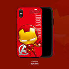 Genuine Marvel Avengers Character Super Hero Apple iPhone Galaxy S Note LG Case