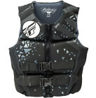 race for life vest top - Womens NEOPRENE Life Jacket Fly Racing Safety Vest Full Zip w Buckles Black NEW