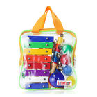 Kids Children Musical Instruments Set Xylophone Percussion Set Band Rhythm Toys