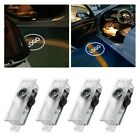 2/4 Led Courtesy Laser Welcome Projector Logo Shadow Car Door Light Lamp For Bmw