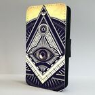 Illuminati All Seeing Eye Symbol FLIP PHONE CASE COVER for IPHONE SAMSUNG