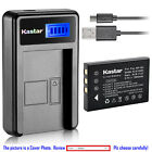Kastar Battery LCD Charger for Fuji NP-60 FNP-60 & Fujifilm FinePix M603 Camera