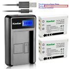 Kastar Battery LCD USB Charger for Fuji NP-95 FNP95 NP95 & Fujifilm FinePix X-S1
