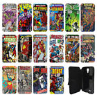 DC Marvel comic book Flip Wallet cover case for Samsung Galaxy No.2