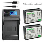 Kastar Battery LCD Charger for Canon LP-E10 LC-E10 & Canon EOS Rebel T6 Camera