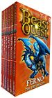 Beast Quest series 1 2 3 4 5 6 7 8 9 10 upto 21 Adam Blade books Collection Set