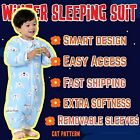 Bigboxc-Baby Winter Sleeping Bag/Autumn Winter sleeping suit-3.5togWarmest