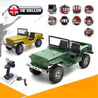 1/10 Scale Military Simulation-vehicle Crawlers Electric 4wd Off Rock Cruiser UK