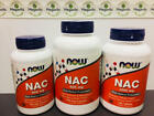 Now Foods NAC (N-Acetyl Cysteine) 600 mg Capsules or 1000 mg Tablets. You Pick!
