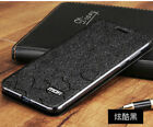 For Huawei P20 Pro Mofi Flip Silk PU Leather Cover Stand Slim Fashion New Case