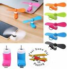Portable Mini Electric Fan iPhone Android Phone Cooling Cooler Samsung iPad