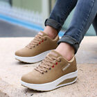 2019 New Women Fashion Sneakers Breathable Waterproof Wedges Athletic Shoes