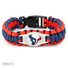Outdoor NFL Lanyard Colors Football Paracord Bracelet Super Bowl Wrap Wristband