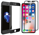 3X Full Coverage For iphone 6/7/8/X 3D Premium Tempered Glass Screen Protector