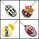 2018 new keychain FOR Real Madrid Barcelona Juventus  fans rubber keyring JH