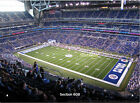 2 Cincinnati Bengals Indianapolis Colts Tickets 9/9 Front Row Lucas Oil Stadium on eBay