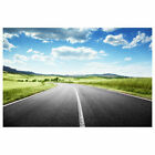 Natural Sunrise Highway Photography Background Distance Photo Backdrops 5x7ft