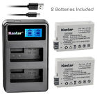 Kastar Battery LCD Dual Charger for Canon LP-E8 LC-E8 & Canon EOS 650D Camera