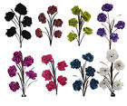 105 cm height 5 Head Peony Artificial Silk Flowers 8 Colors - Home Decoration