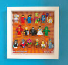 LEGO Minifigure Display Frame Case for Series 18 Minifigs (Latest Series)