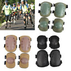 Adjustable Airsoft Tactical Combat Protective Knee Elbow Pad Protector Gear USA