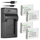 Kastar Battery Slim Charger for Canon NB-6L 6LH CB-2LY Canon PowerShot SD770 IS