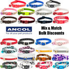 Ancol Cat Collar Camo Reflective Softweave Leopard Bulk Buy Mix n Match from £2