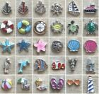 Floating Charm BEACH NAUTICAL OCEAN VACATION SEA LIFE fit Glass Origami Locket
