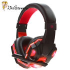 Gaming Headset Stereo Surround Headphone 3.5mm Wired With Mic For PS4/PS3/PC