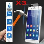 3x For Huawei P10/ P9/ P8 lite P10 Plus P10 LITE Tempered Glass Screen Protector