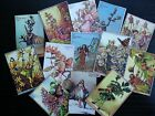 BB31D Lot of 13 Vintage Flower Fairies #D DIE CUTS for CARD MAKING Free Shipping