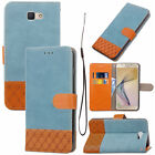 CASE COVER WALET LUXURY FABRIC NEW LEATHER SAMSUNG S6 S7 S8 A5 J3 NEW