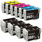 Epson 252XL Black Color Ink Printer WorkForce WF3620 WF3640 WF7110 WF7610 WF7620