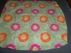 Tommy Hilfiger Twin Flat & Fitted or Flat Sheet Green Flower Daisy Pink Orange