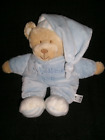 Mothercare My Bedtime Teddy Bear Soft Toy Blankie Comforter Blue or Pink x 1