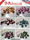15pcs Authentic Swarovski 6228 10mm Heart Pendants - Please select colour