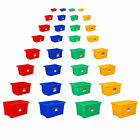 New Quality Stack & Store Plastic Storage Box Boxes Bins Stackable Nestable Wham