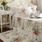 Home Deco Elena Rural Style Ruffles & Laces Nice Cotton Matching Bed Skirt image