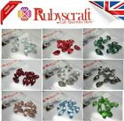 10pcs Swarovski 6010 13x6.5mm Briolette Pendants - Please select colour