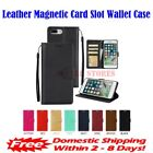 Leather Magnetic Card Slot Wallet Flip Case for iPhone 5 & iPhone 5S & iPhone SE