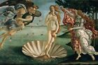 The Birth of Venus by Sandro Botticelli, Giclee Canvas Print, in various sizes