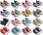 MINIFEET CANVAS BABY / TODDLER SHOES 0-6, 6-12, 12-18 & 18-24 MONTHS