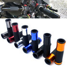 "7/8"" Aluminum Handlebar Rubber Gel Hand Grips Bar End For Motorcycle Sports Bike $5.79 USD on eBay"